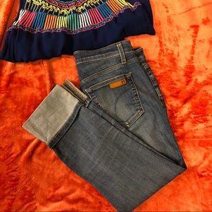 Joe's Jeans cuffed crop jeans
